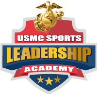 USMC Sports Leadership Academy Logo